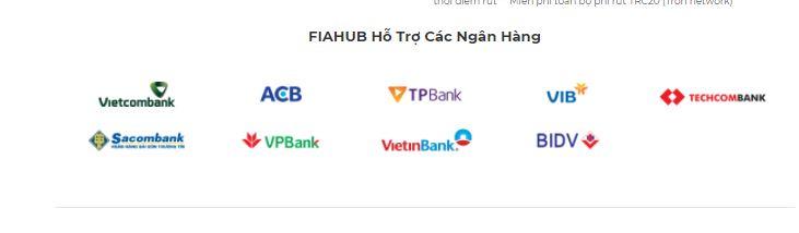FIAHUB Hỗ Trợ Các Ngân Hàng