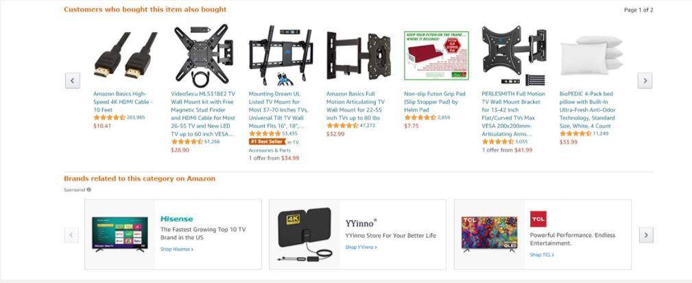 Amazon - Đề xuất mua sắm được cá nhân hóa