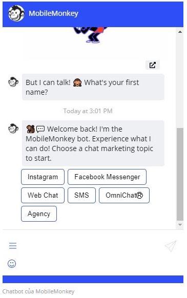Chatbots AI Marketing