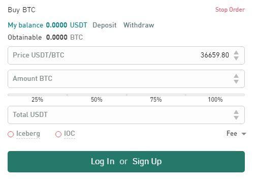 Phương thức gửi và rút tiền bằng Gate.io