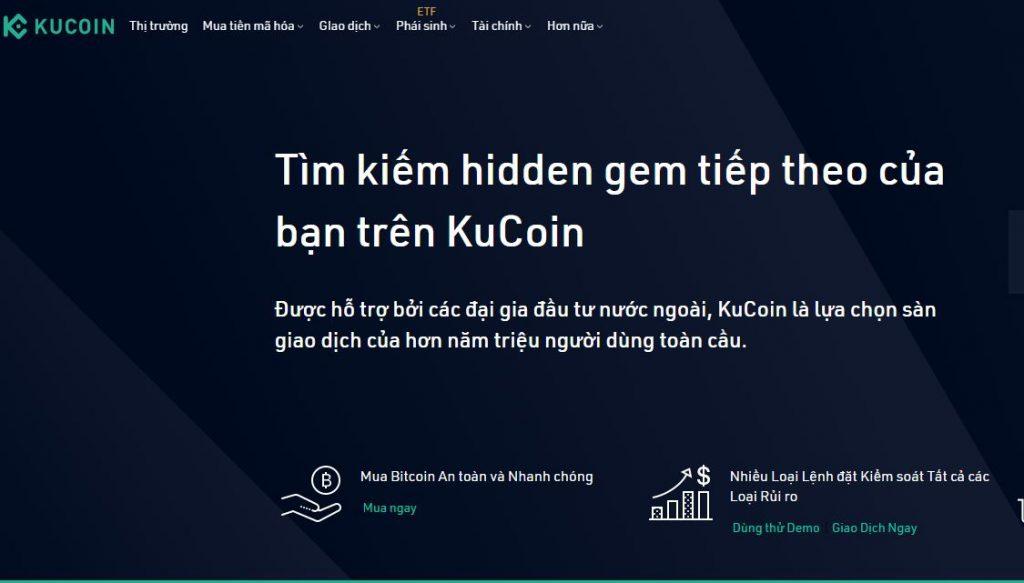 Sàn giao dịch Kucoin