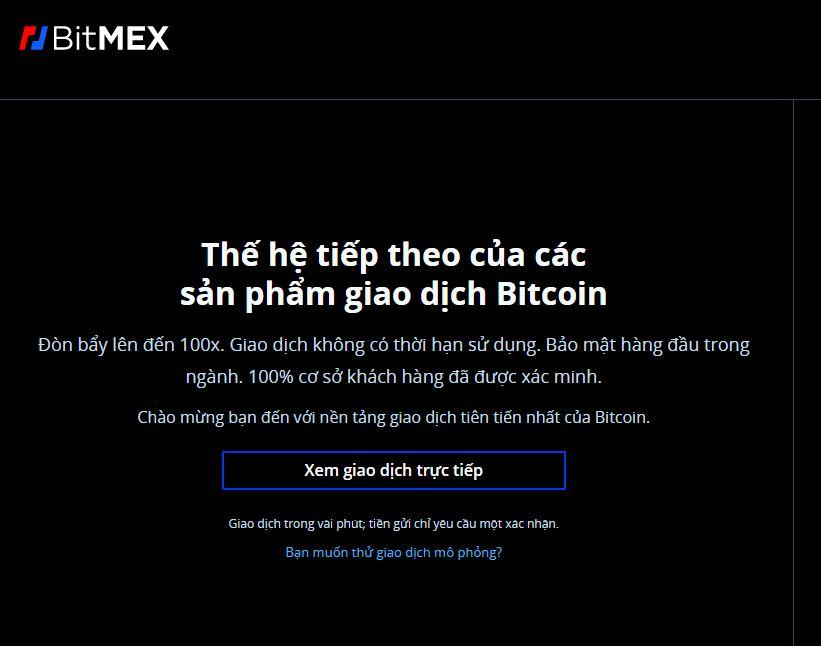 Sàn giao dịch BitMEX