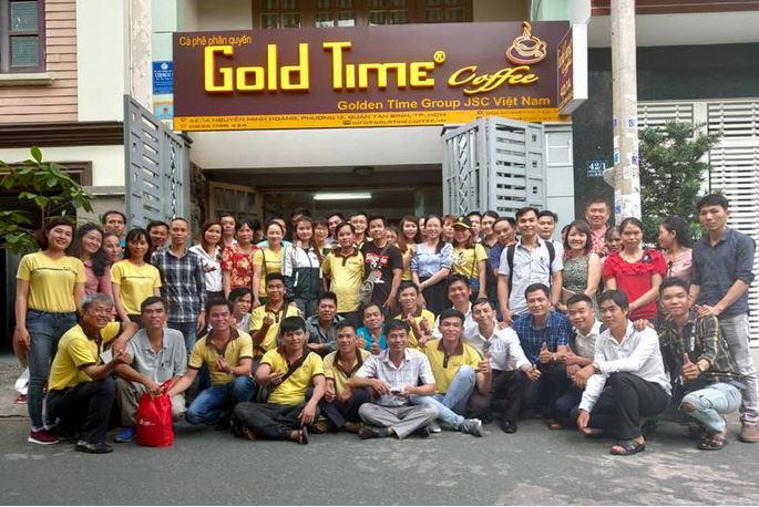 Gold Time Coffee là gì?