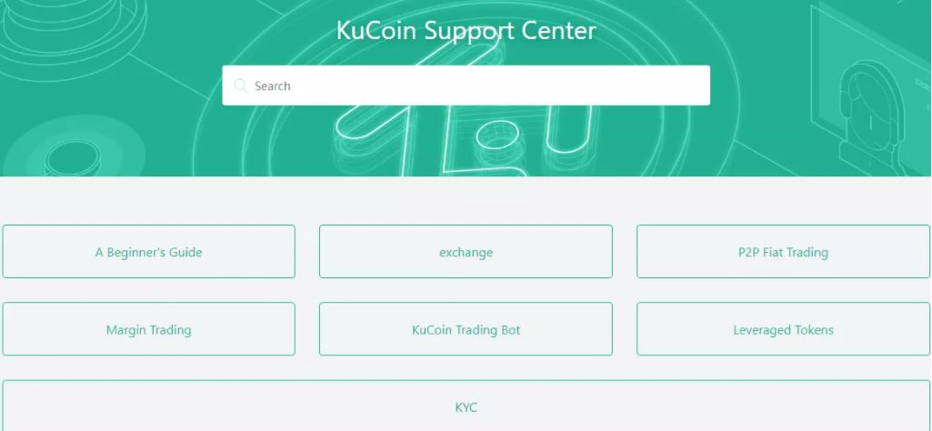 Hỗ trợ khách hàng của KuCoin