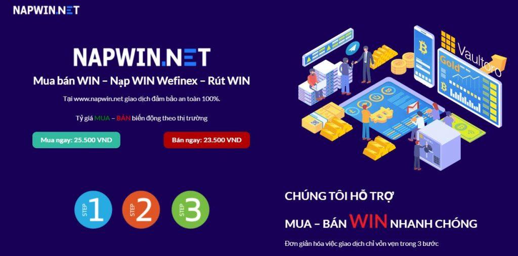 Nạp WIN Wefinex trên NapWIN.Net