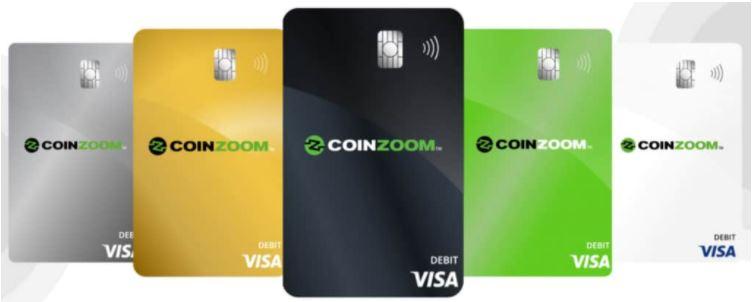Thẻ ghi nợ toàn cầu CoinZoom