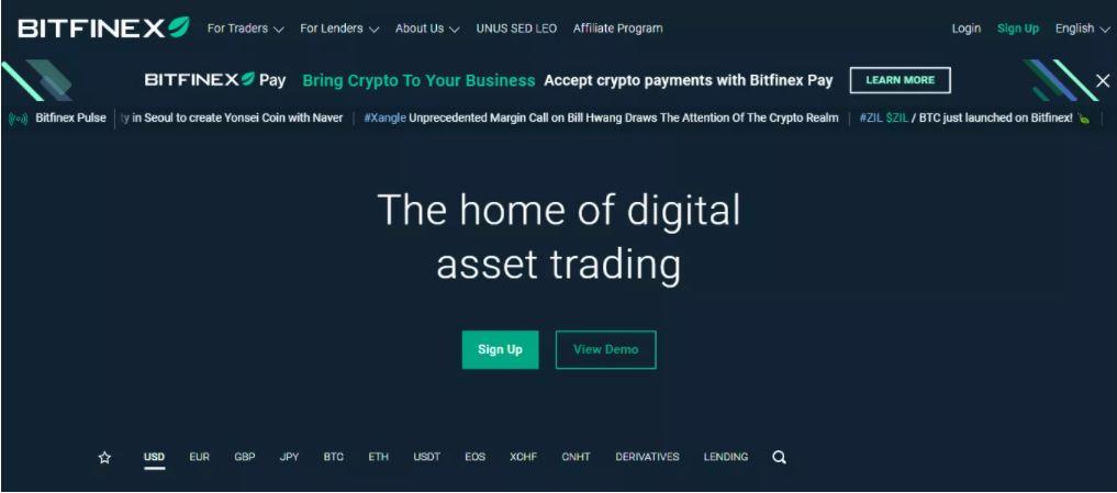 Bitfinex là gì?
