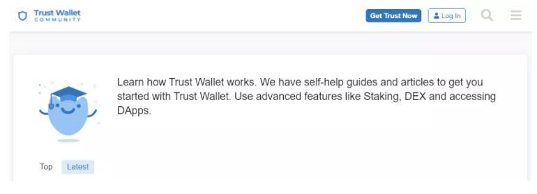 Hỗ trợ khách hàng của Trust Wallet
