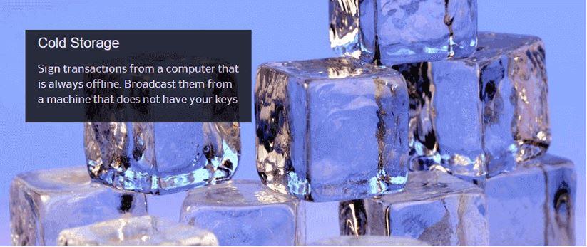 Dịch vụ lưu trữ lạnh bằng ví Electrum