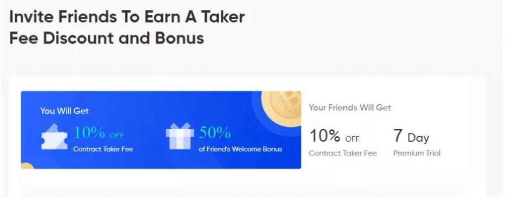 Đánh giá của Phemex - Mời bạn bè và kiếm tiền