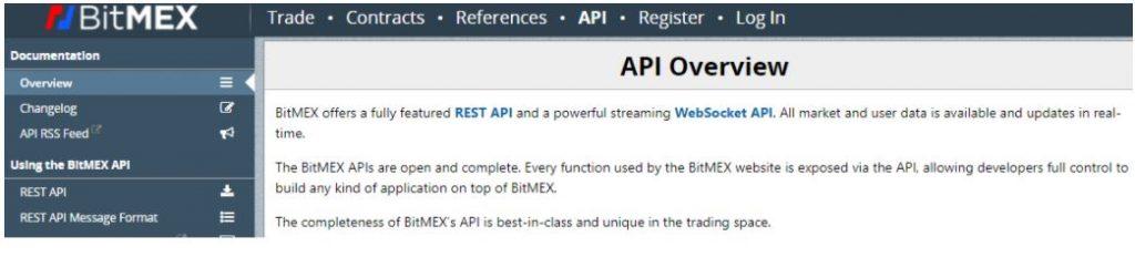 API BitMEX