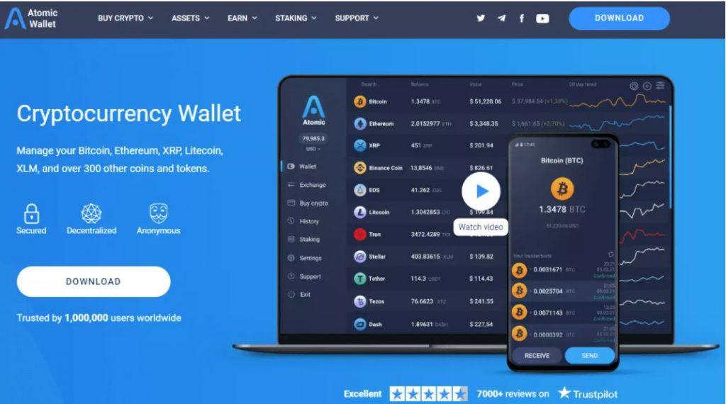 Ví tiền điện tử tốt nhất - Khám phá ví nguyên tử và giữ an toàn cho tài sản của bạn