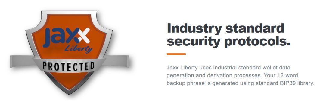 Bảo mật ví Jaxx