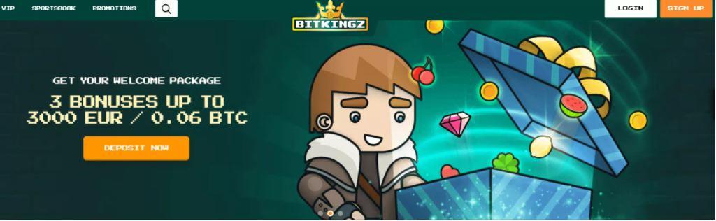 Bitkingz - Khám phá các trò chơi sòng bạc khác nhau tại đây!