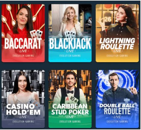 Chơi các trò chơi Casino trực tiếp tại Stake & Thưởng thức!