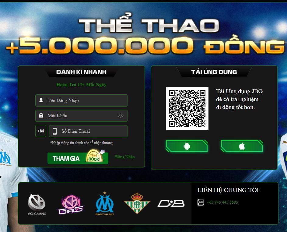 Cách đăng ký JBO Vietnam