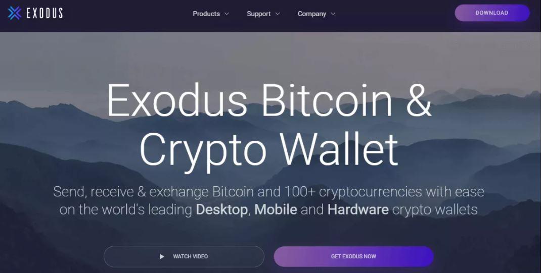 Ví tiền điện tử tốt nhất - Khám phá các dịch vụ được cung cấp bởi Exodus Wallet