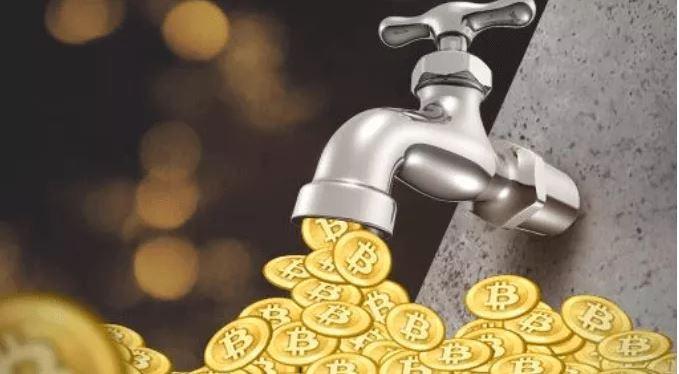 Faucet tiền điện tử