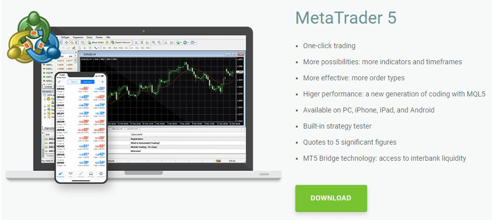 Nền tảng giao dịch MetaTrader 5