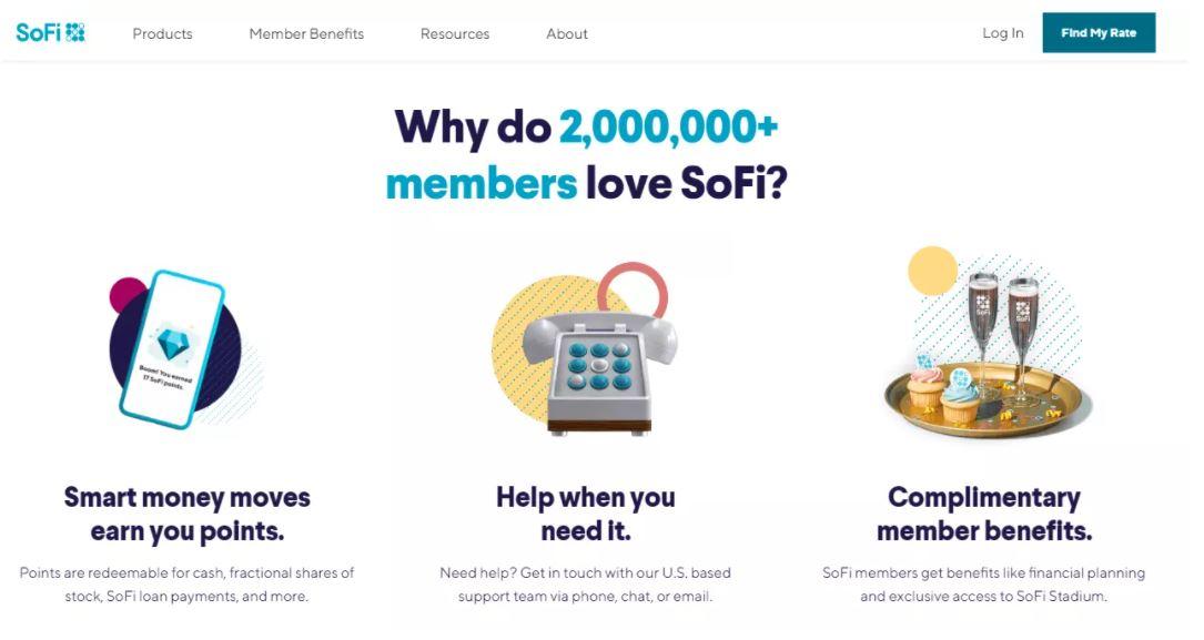 Ví tiền điện tử tốt nhất - Sử dụng ví nền tảng SoFi và nhận lợi ích