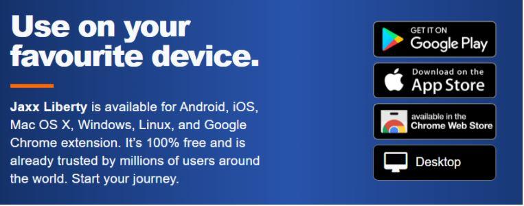 Tải xuống Jaxx Wallet trên thiết bị yêu thích của bạn