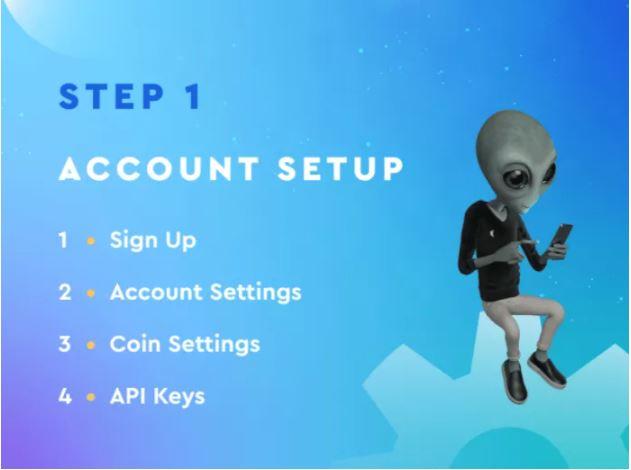 Quy trình SetUp Tài khoản