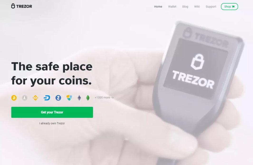Ví tiền điện tử tốt nhất - Sử dụng ví Trezor ở mọi nơi