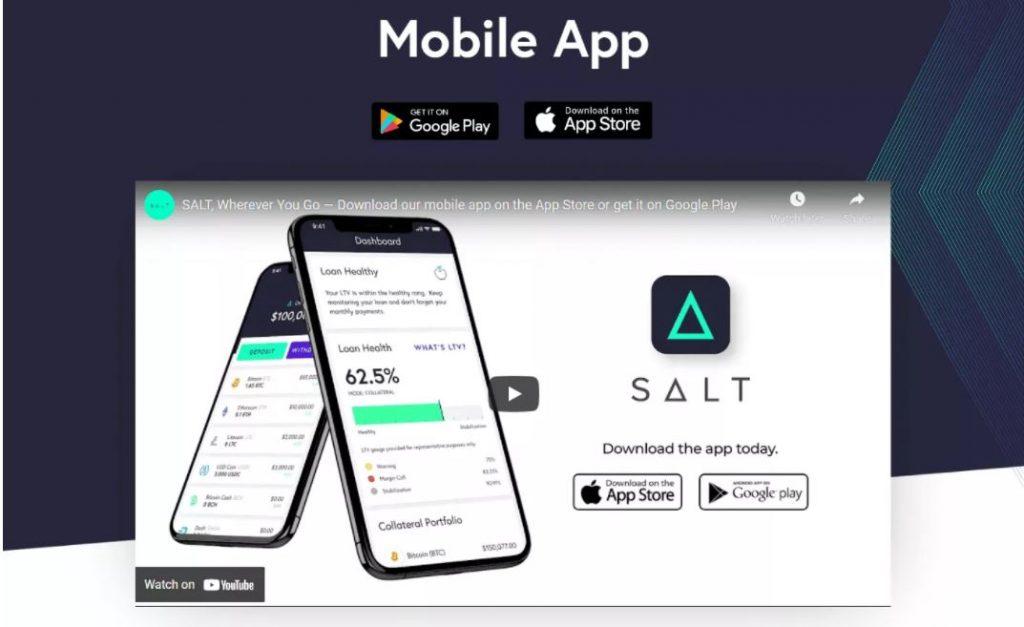 Ứng dụng di động SALT