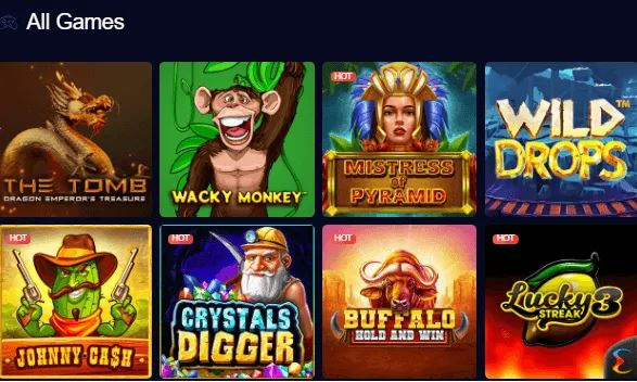 Explore All the Games at mBit & Win Big