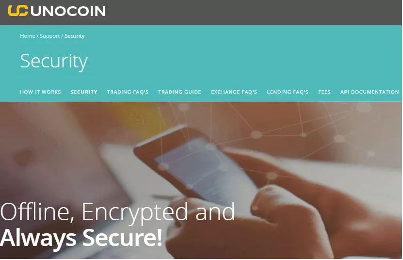 Các biện pháp bảo mật của Unocoin