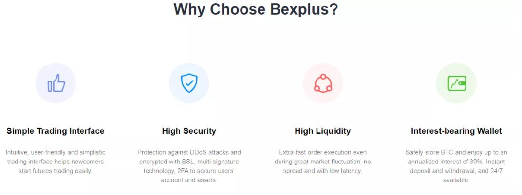 Các biện pháp bảo mật của Bexplus