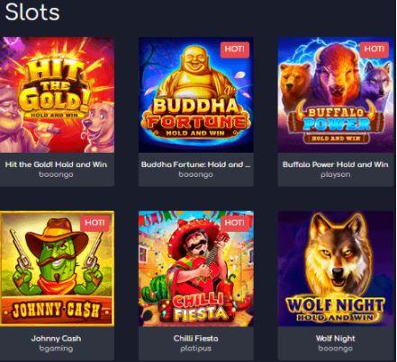 Thưởng thức các trò chơi Slots khác nhau tại Wild Tornado