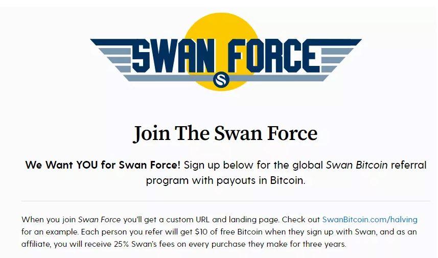 Chương trình giới thiệu Bitcoin của Swan
