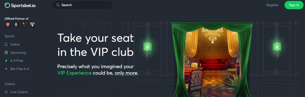 Chương trình VIP của Sportsbet.io
