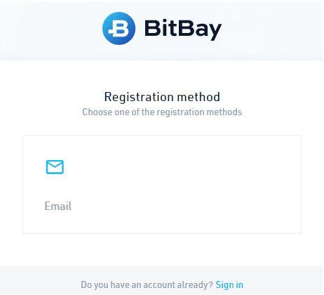 Quy trình đăng ký BitBay