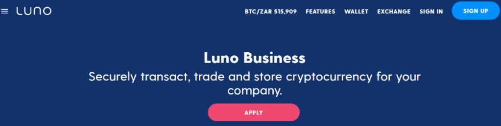 Khám phá các dịch vụ kinh doanh của Luno