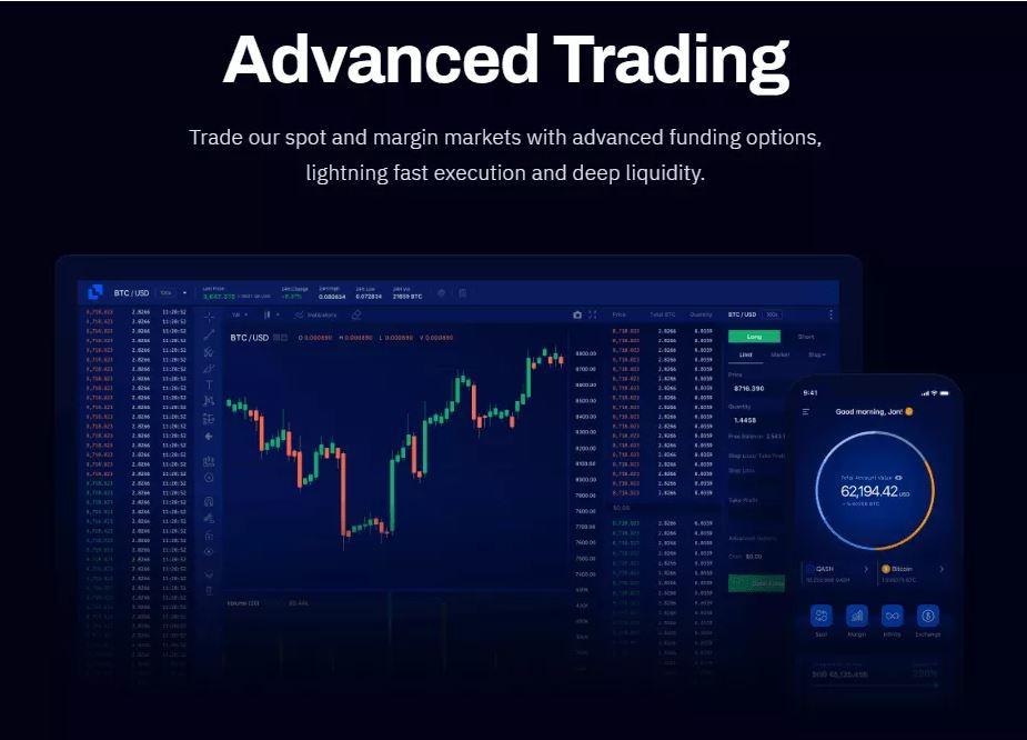Giao dịch nâng cao với Liquid Exchange