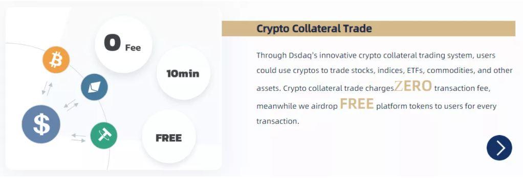 Dsdaq Review- Giao dịch tài sản thế chấp tiền điện tử