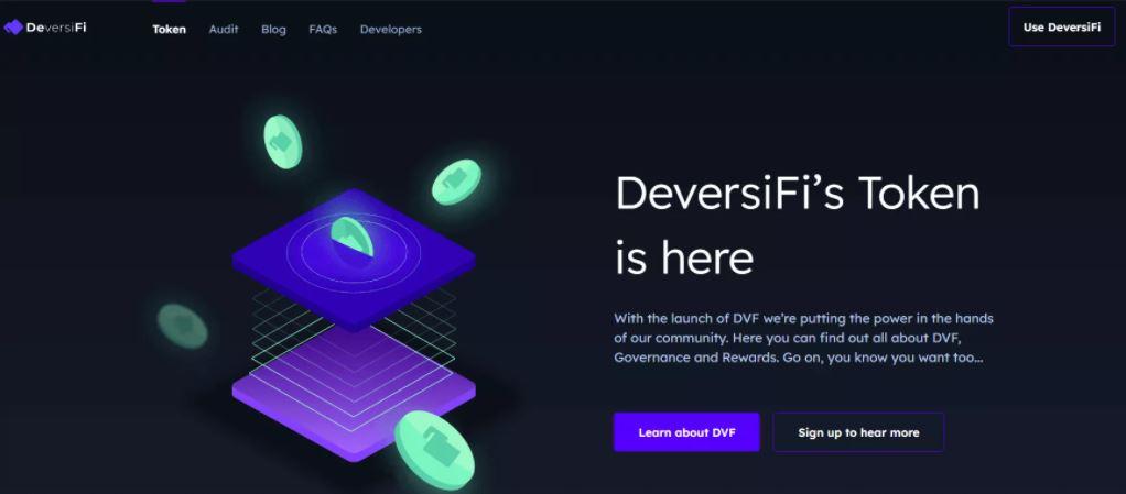 Mã thông báo DeversiFi (DVF)