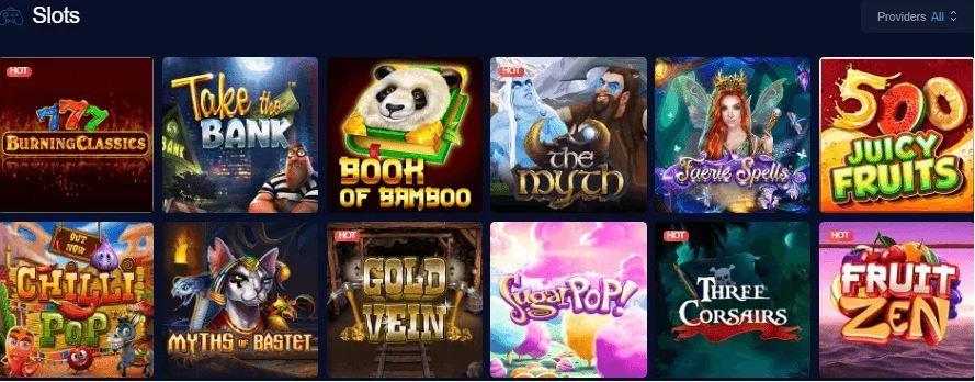 mBit Casino Slots Trò chơi