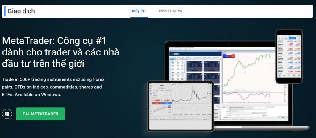 Nhà giao dịch Meta của Admiral Markets