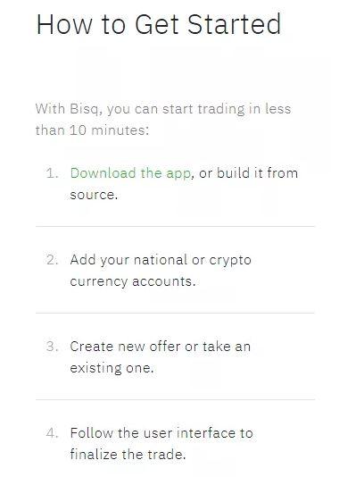 Đánh giá Bisq - Quy trình để bắt đầu với Bisq Exchange