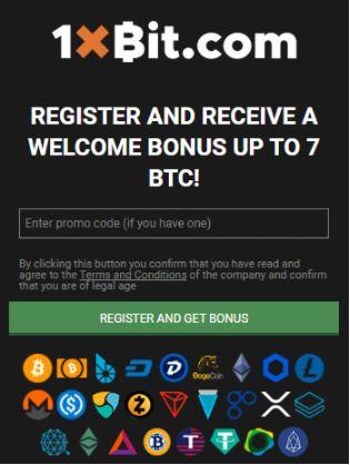 Quy trình đăng ký 1xBit