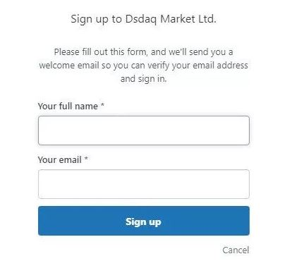 Quy trình đăng ký Dsdaq