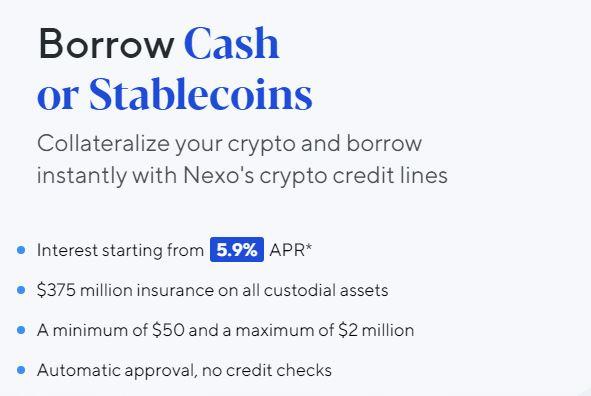 Nexo Review - Sản phẩm và Dịch vụ