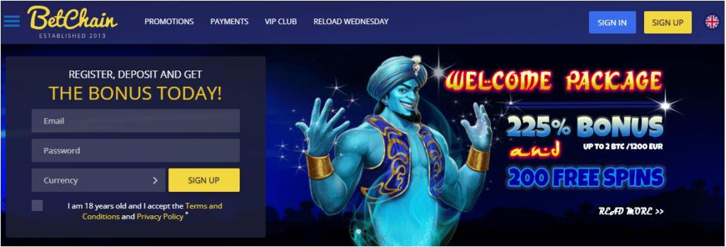 Giới thiệu về BetChain Casino