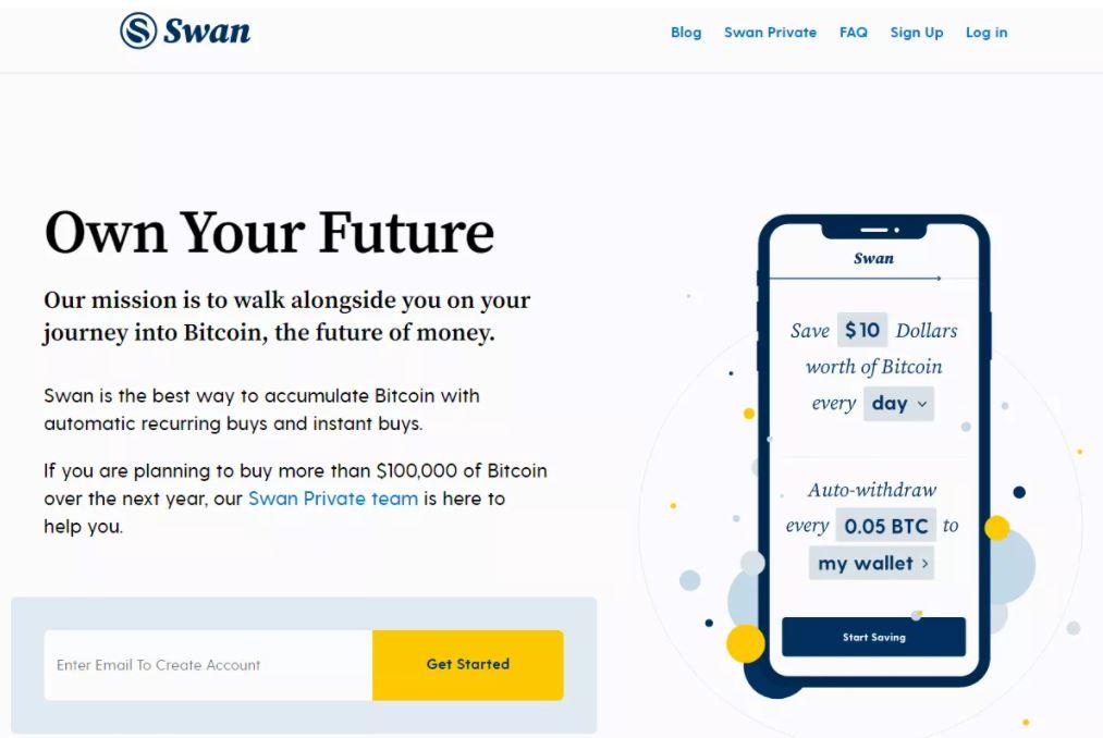 Swan Bitcoin là gì?