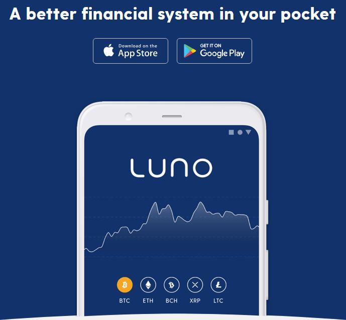 Tải xuống ứng dụng Luno và bắt đầu giao dịch