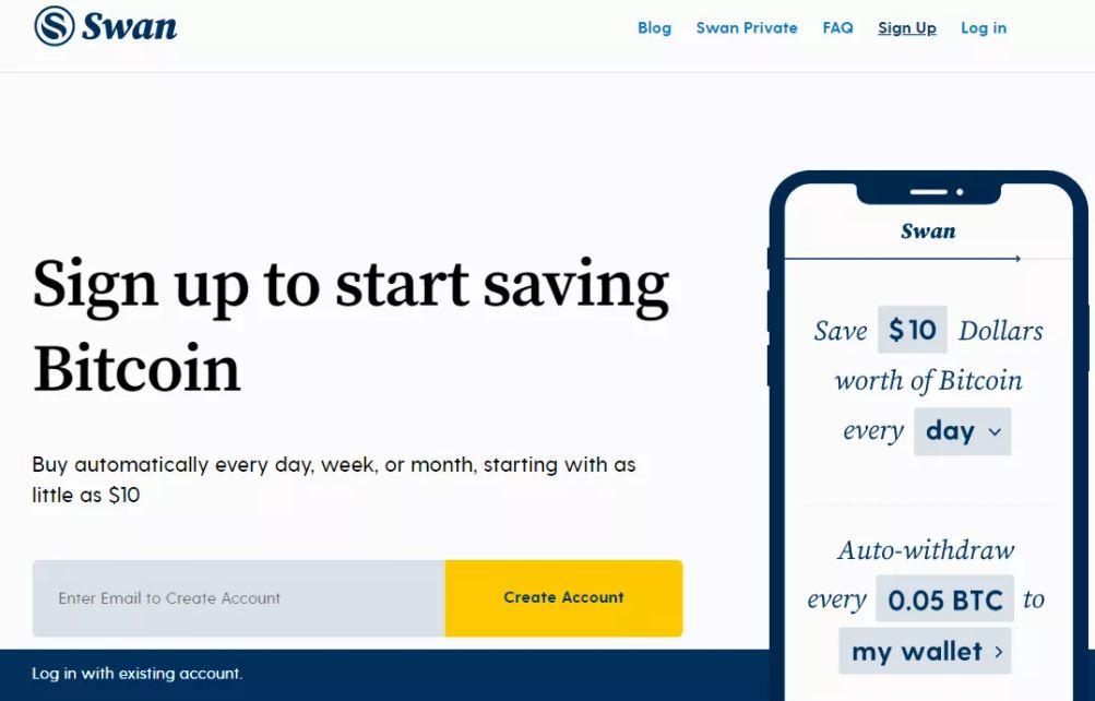 Đánh giá Swan Bitcoin - Quy trình đăng ký