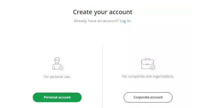Tạo tài khoản với Bitstamp